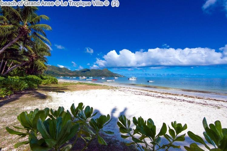 Beach Of Grand Anse © Le Tropique Villa ©