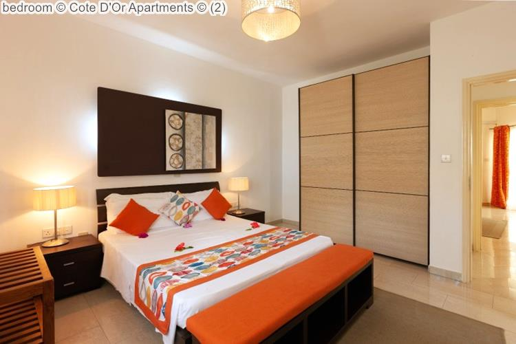Bedroom © Cote D'Or Apartments ©