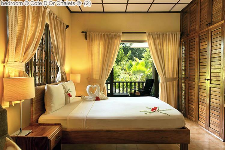bedroom Cote DOr Chalets