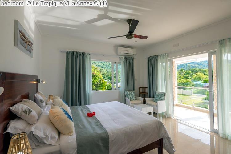 bedroom Le Tropique Villa Annex