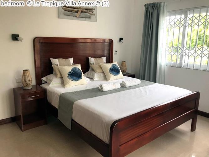 Bedroom © Le Tropique Villa Annex ©