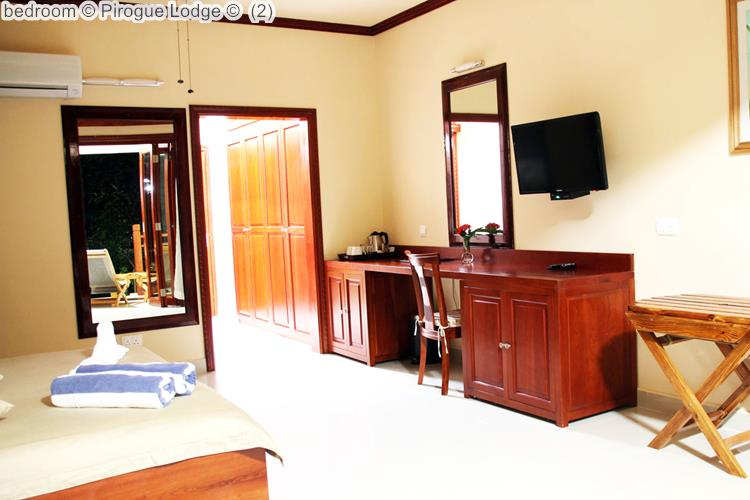 Bedroom © Pirogue Lodge ©