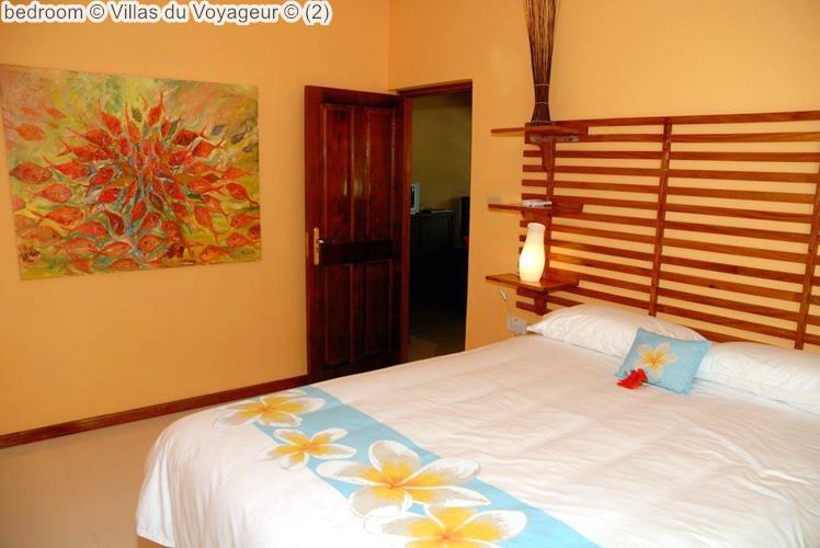 bedroom Villas du Voyageur