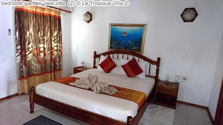 Bedroom Garden View Villa (2) © Le Tropique Villa ©