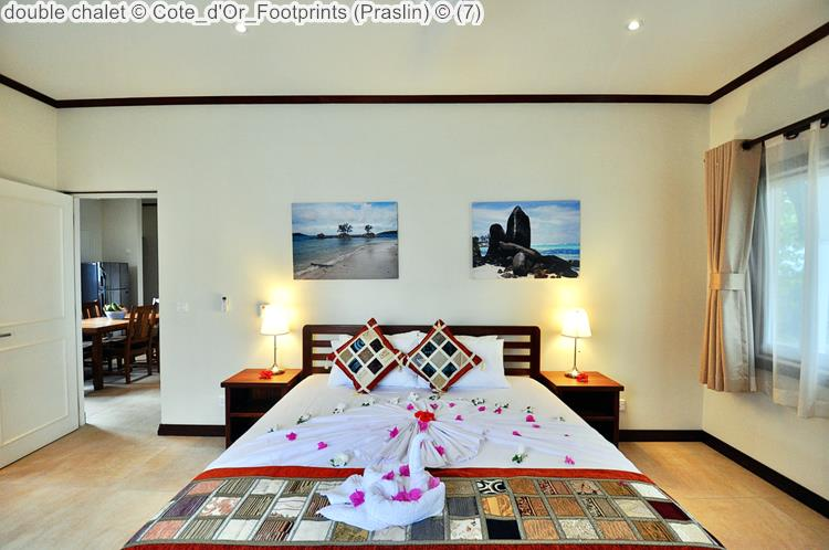 Double Chalet © Cote D'Or Footprints (Praslin) ©