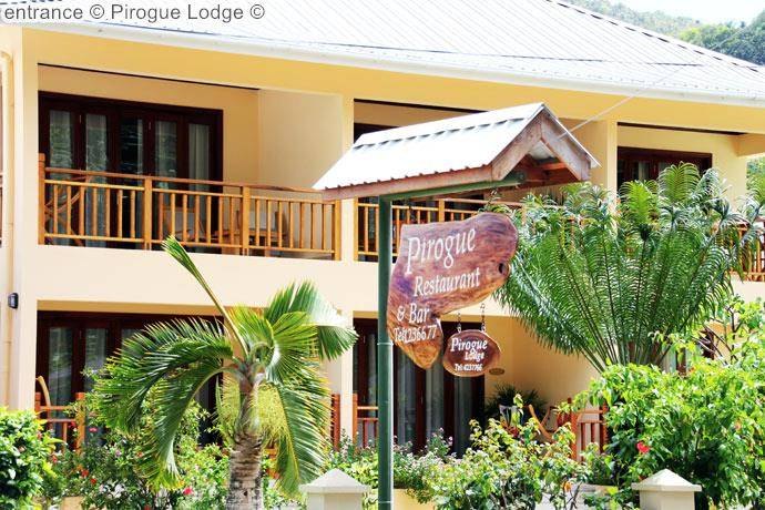 entrance Pirogue Lodge