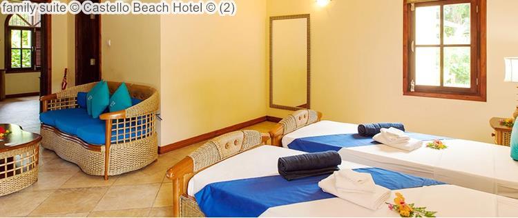 family suite Castello Beach Hotel