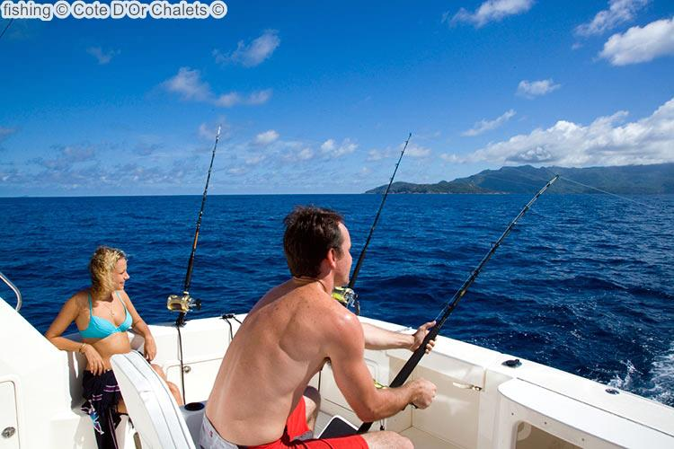 Fishing © Cote D'Or Chalets ©