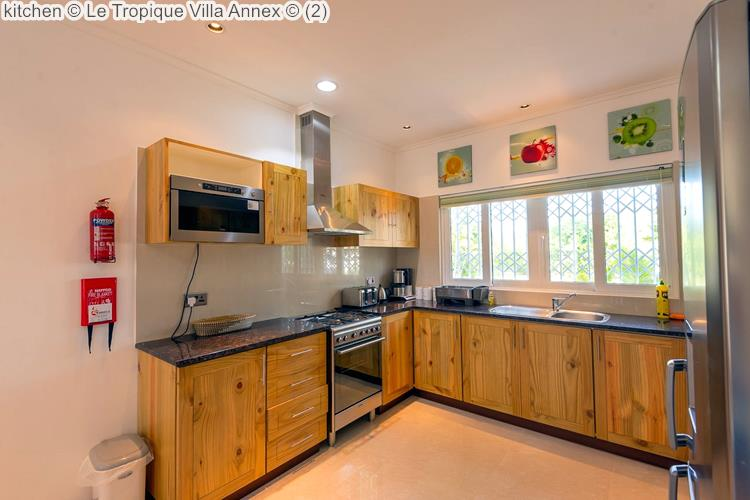 kitchen Le Tropique Villa Annex