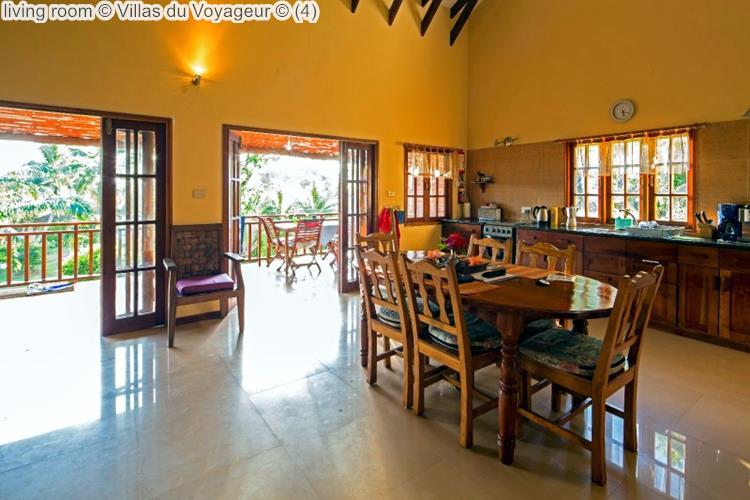 living room Villas du Voyageur