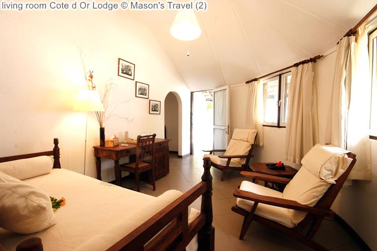 living room Cote d Or Lodge