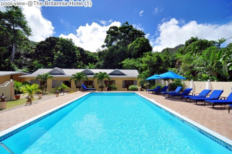 pool view @The Britannia Hotel