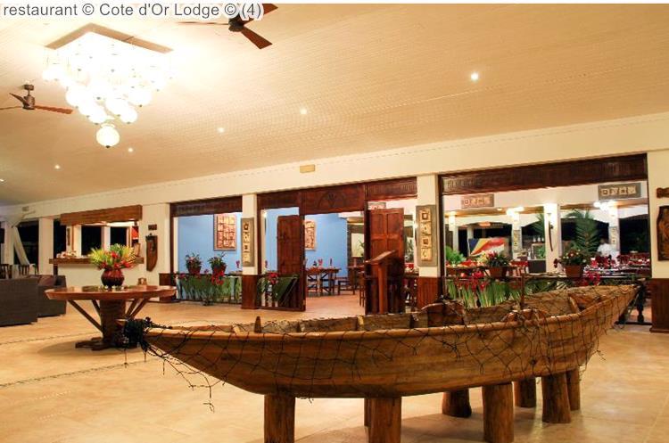 restaurant Cote dOr Lodge