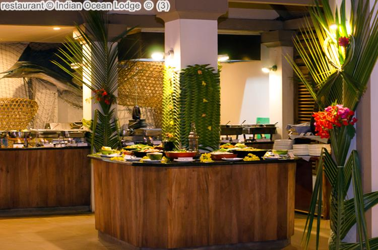 restaurant Indian Ocean Lodge