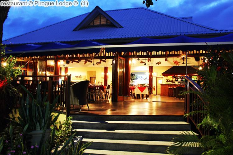 Restaurant © Pirogue Lodge © (1)