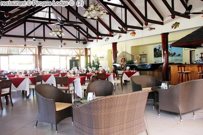 restaurant Pirogue Lodge
