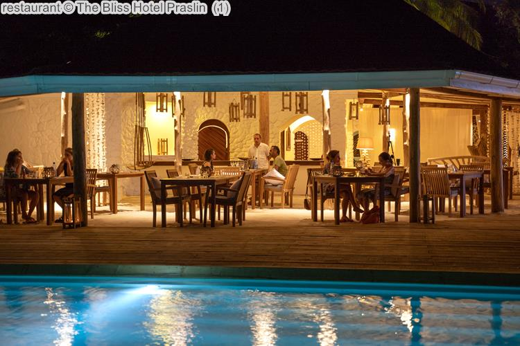 restaurant The Bliss Hotel Praslin