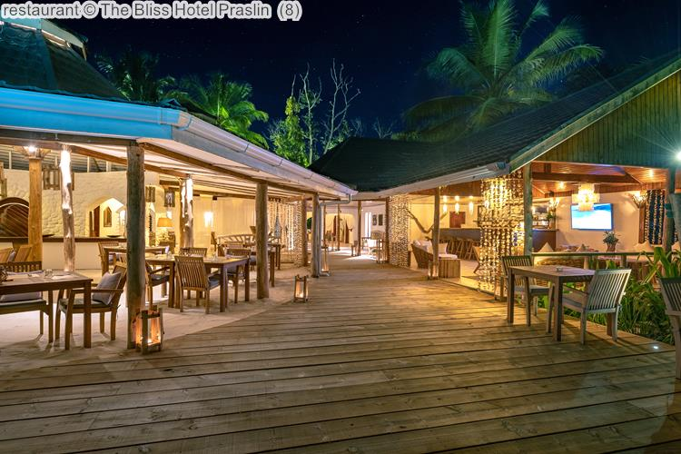 Restaurant © The Bliss Hotel Praslin