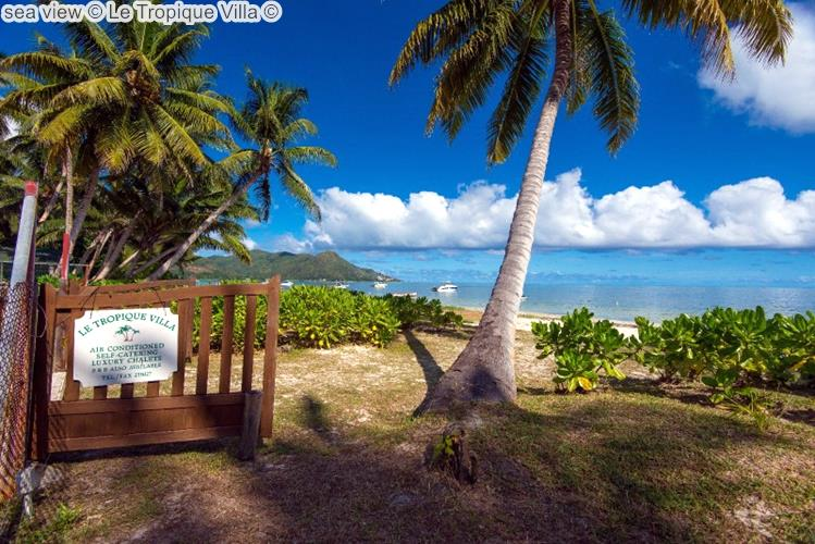 sea view Le Tropique Villa