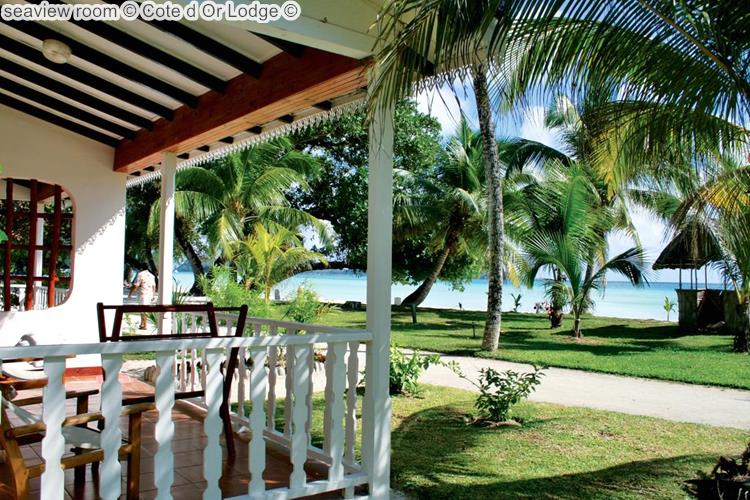 seaview room Cote d Or Lodge