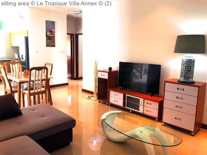 zitkamer Le Tropique Villa Annex