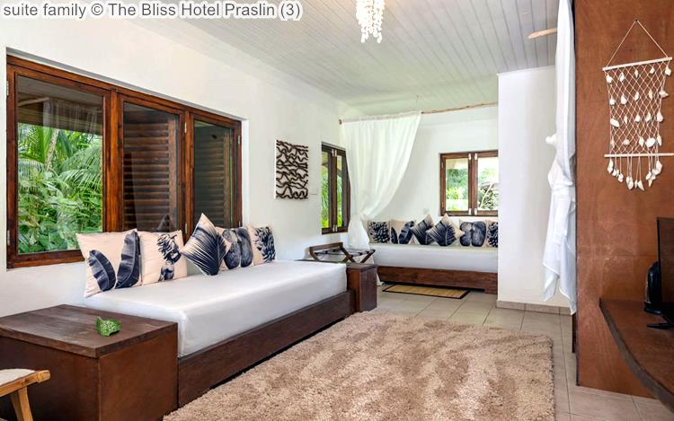 suite family The Bliss Hotel Praslin