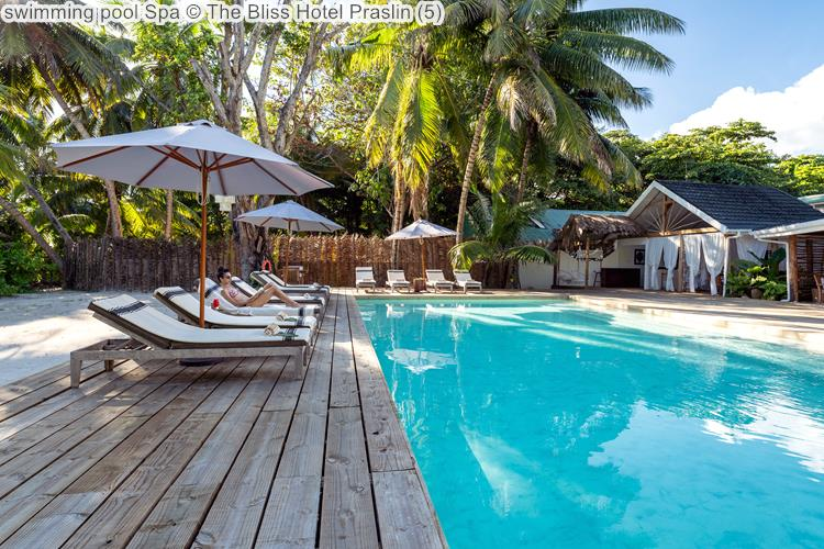 swimming pool Spa The Bliss Hotel Praslin