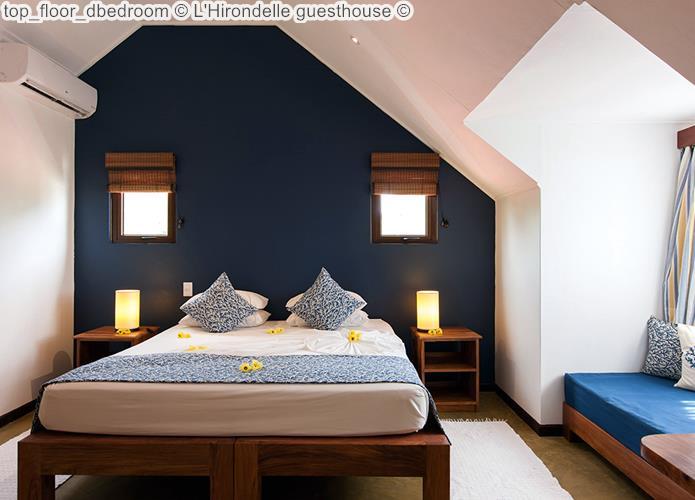 Top Floor bedroom © L'Hirondelle Guesthouse ©