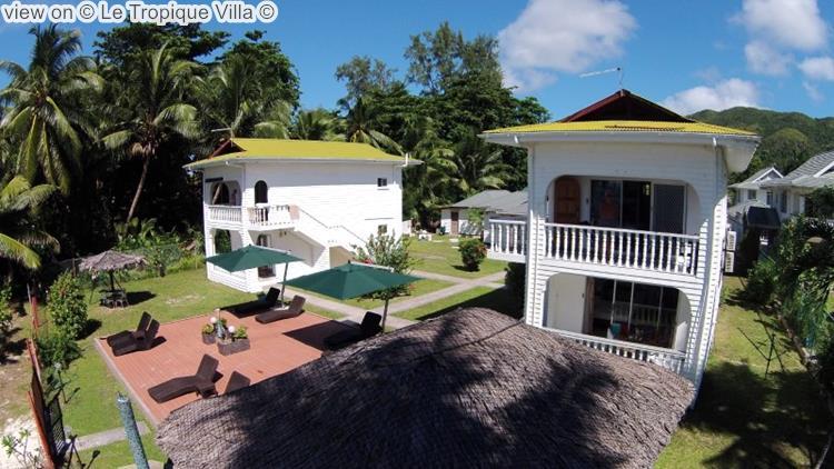 gezicht opLe Tropique Villa