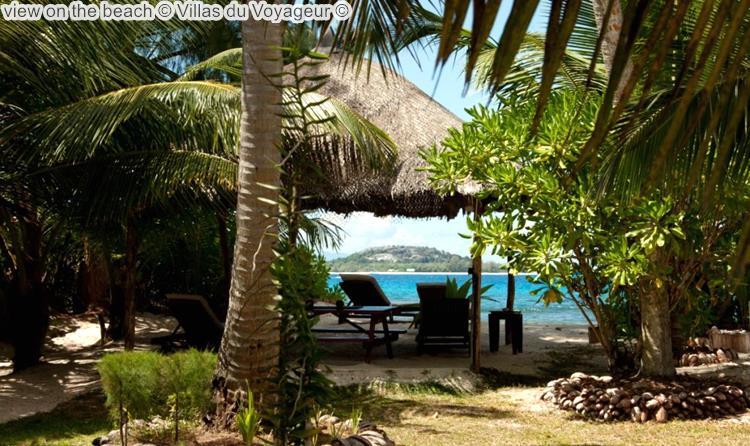 gezicht opthe beach Villas du Voyageur