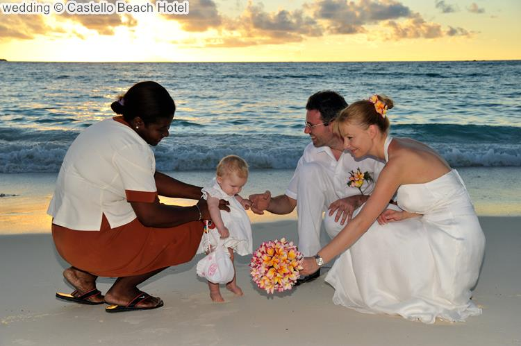 wedding Castello Beach Hotel