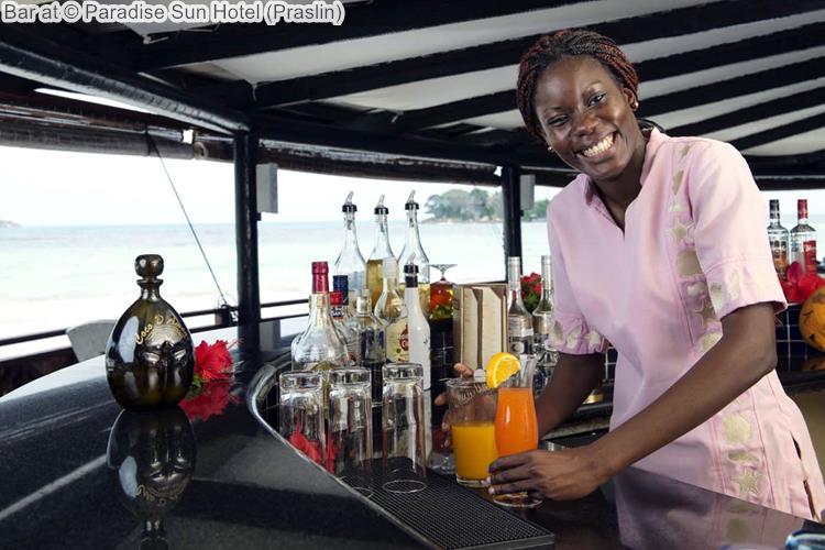 Bar at Paradise Sun Hotel Praslin