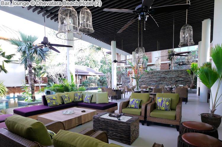 Bar Lounge © Dhevatara Beach Hotel