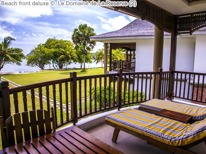 Beach Front Deluxe © Le Domaine De La Reserve