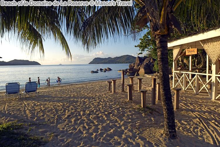 Beach of le Domaine de La Reserve