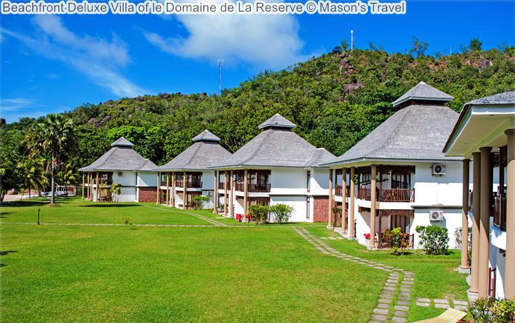 Beachfront Deluxe Villa of le Domaine de La Reserve