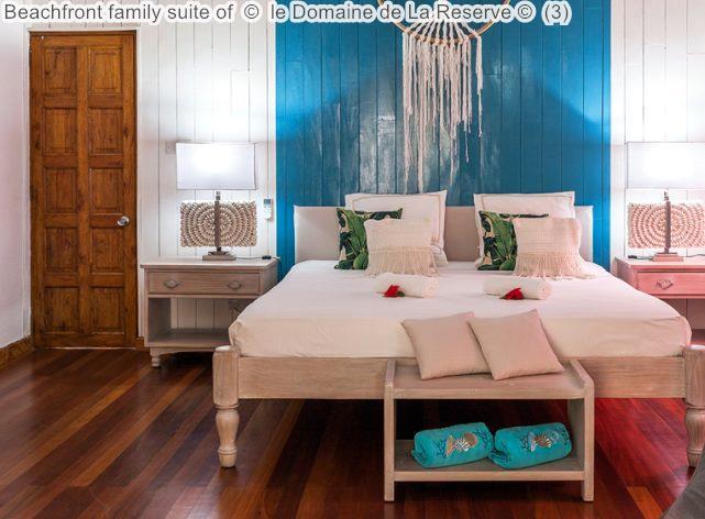 Beachfront Family Suite Of © Le Domaine De La Reserve ©