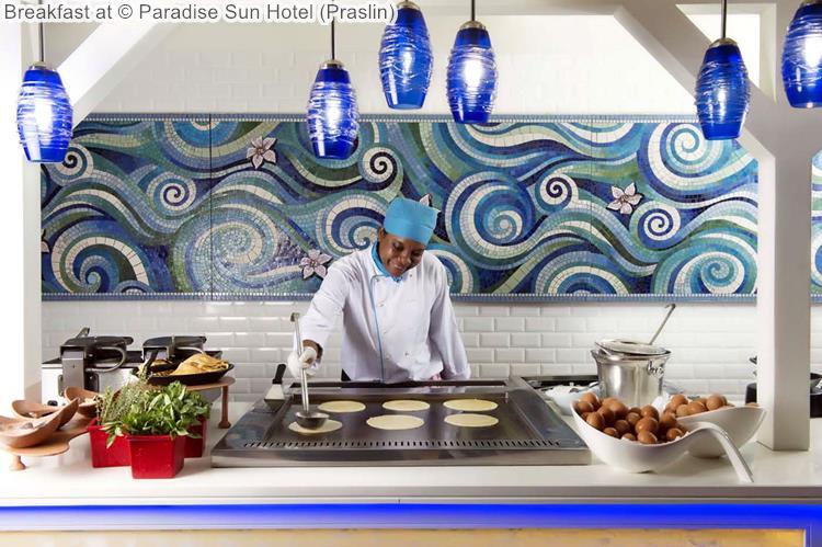 Breakfast at Paradise Sun Hotel Praslin