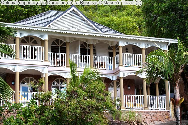 Colonial superior of le Domaine de La Reserve