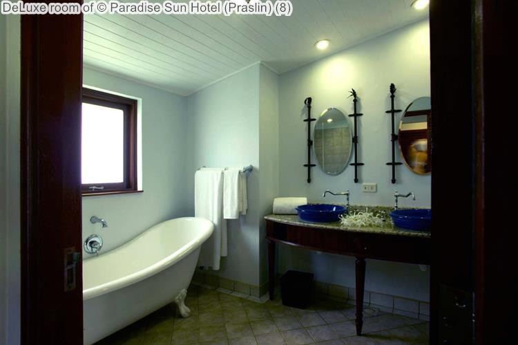 DeLuxe room Paradise Sun Hotel Praslin