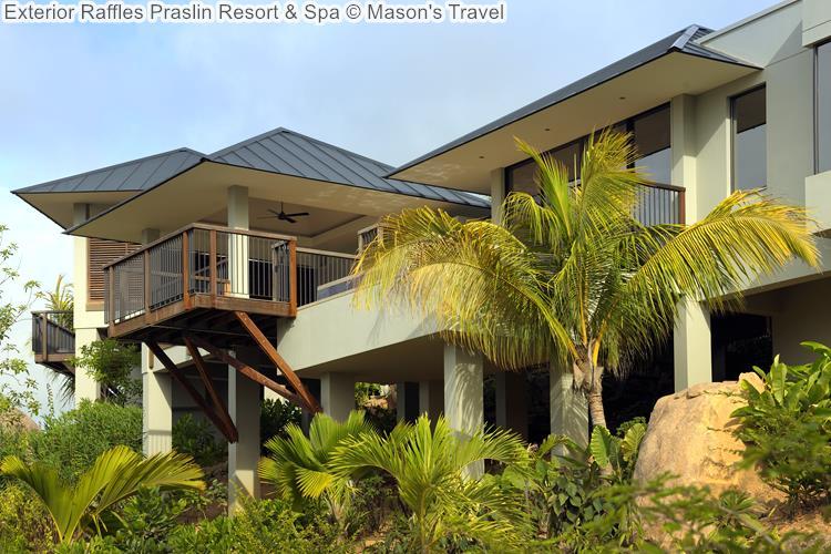 Exterior Raffles Praslin Resort Spa