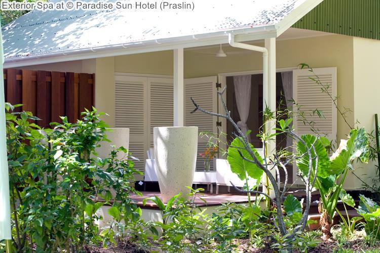 Exterior Spa at Paradise Sun Hotel Praslin