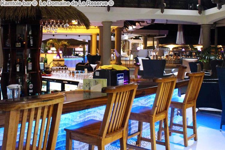 Kamtole bar Le Domaine de La Reserve