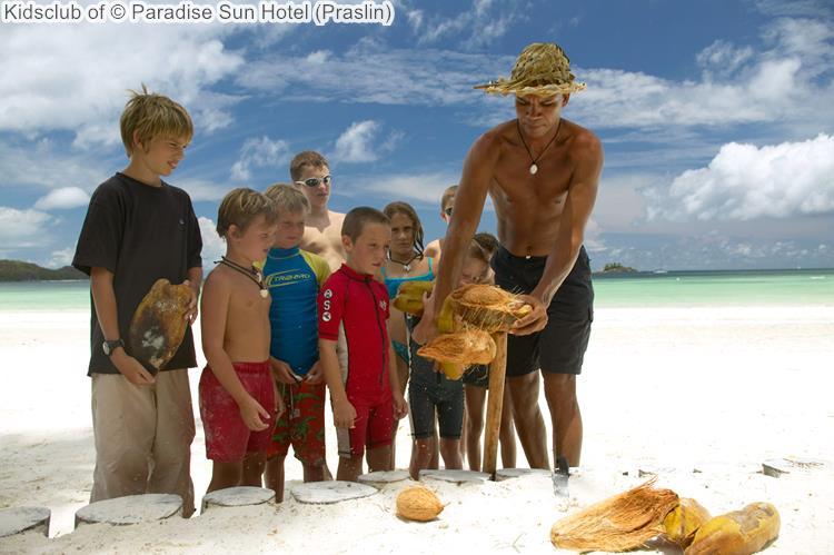 Kidsclub of Paradise Sun Hotel Praslin