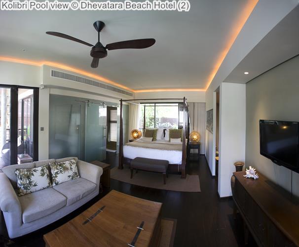 Kolibri Pool view Dhevatara Beach Hotel