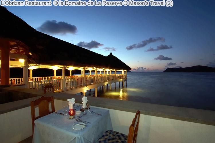 L'Obrizan Restaurant le Domaine de La Reserve