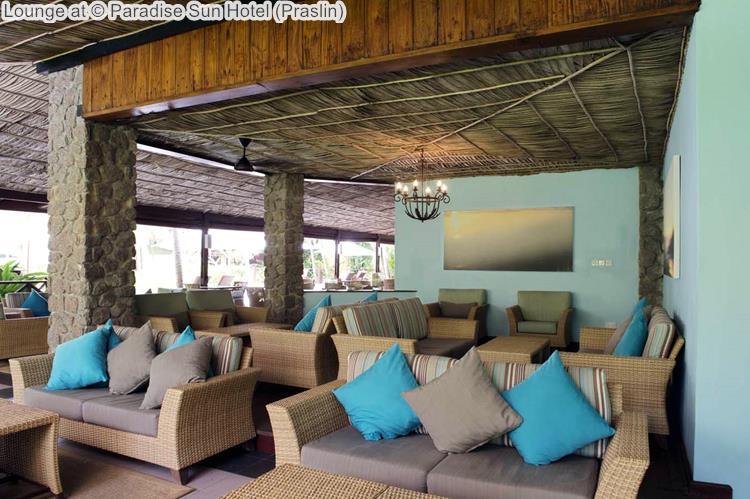 Lounge at Paradise Sun Hotel Praslin