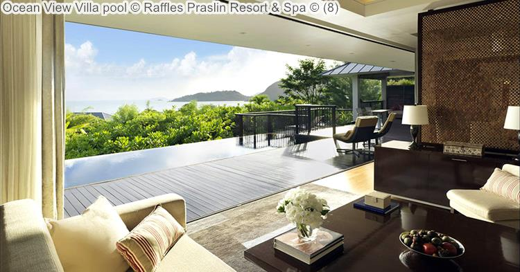 Ocean View Villa Pool © Raffles Praslin Resort & Spa ©