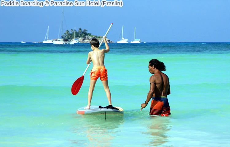 Paddle Boarding © Paradise Sun Hotel (Praslin)