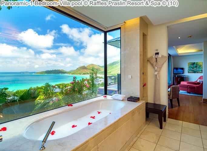 Panoramic 1 Bedroom Villa Pool © Raffles Praslin Resort & Spa ©